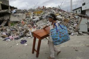 Estadísticas del terremoto en Ecuador