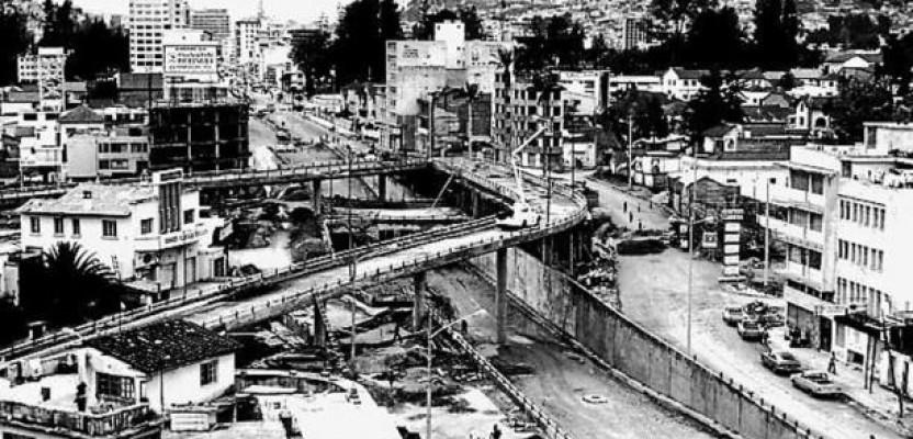 La ciudad petrolera de los setenta