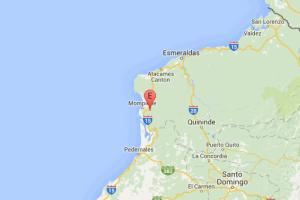 Fuerte réplica del terremoto en Ecuador