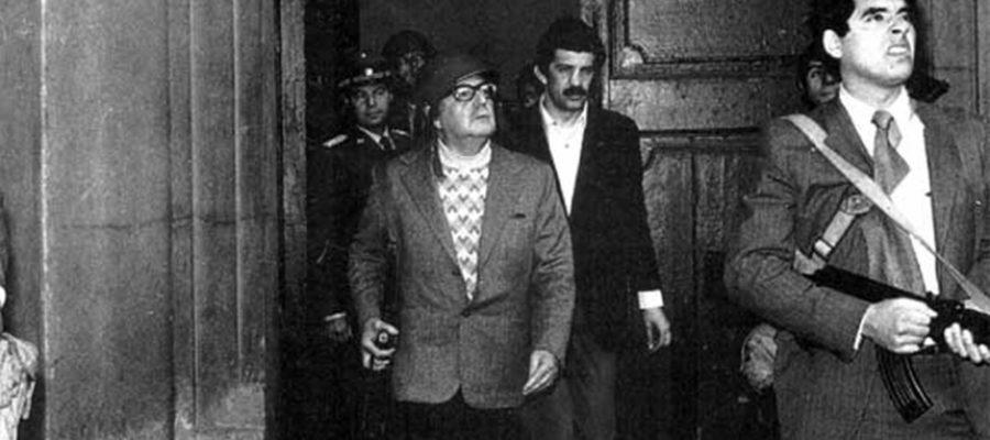 Últimas palabras de Allende en La Moneda