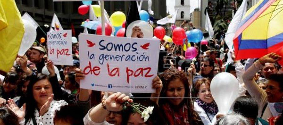 En Colombia, !el tiempo de los fusiles ya pasó!