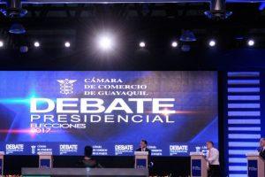 Debate presidencial: un poco de terruño