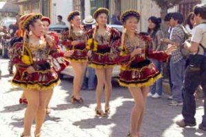 El carnaval de Oruro en Iztacalco