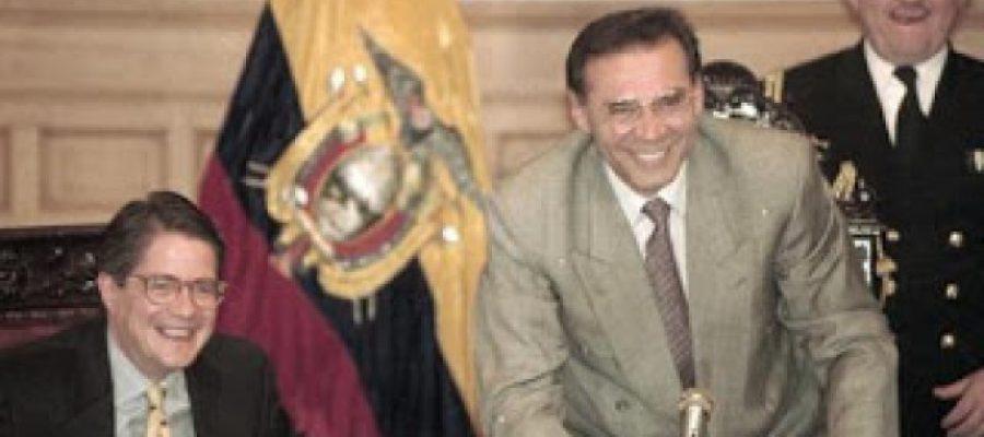Guillermo Lasso y Jamil Mahuad