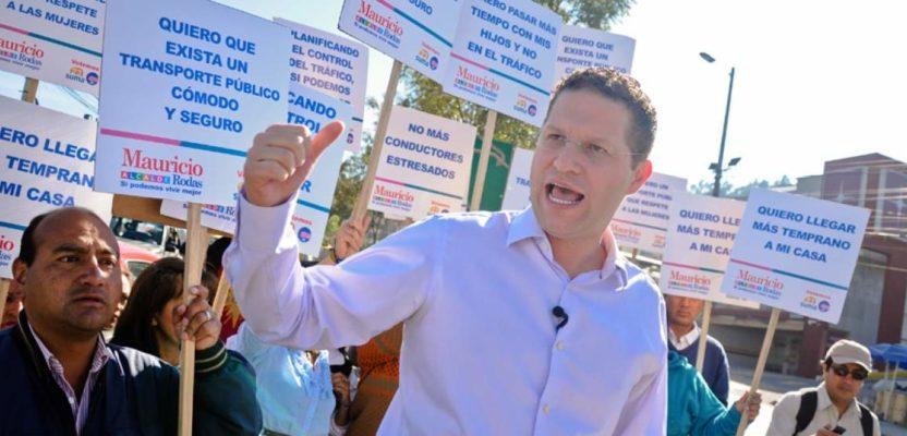 Ciudadanía solicita revocatoria del mandato del alcalde quiteño Mauricio Rodas
