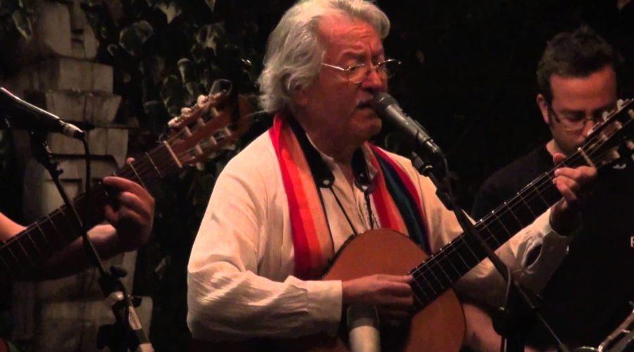 Max Berrú, trovador de alamedas y esperanzas