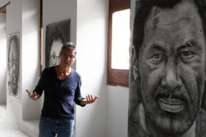 Bismark y sus mil rostros de migrante