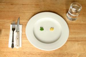 La mesa (no) está servida.
