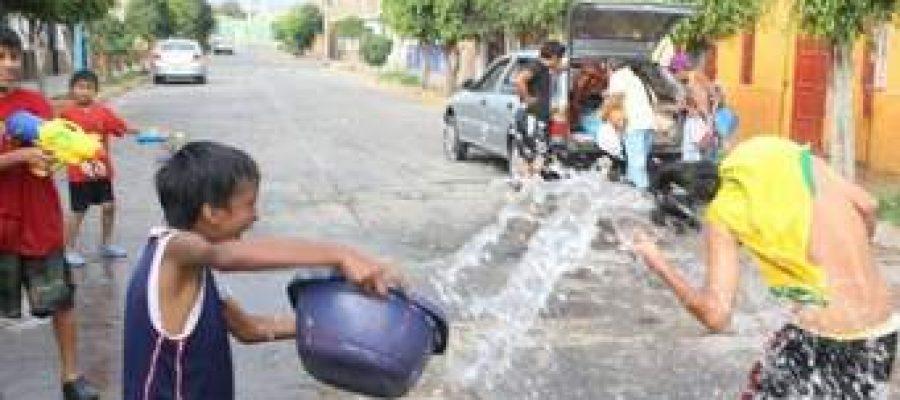 El agua de carnaval
