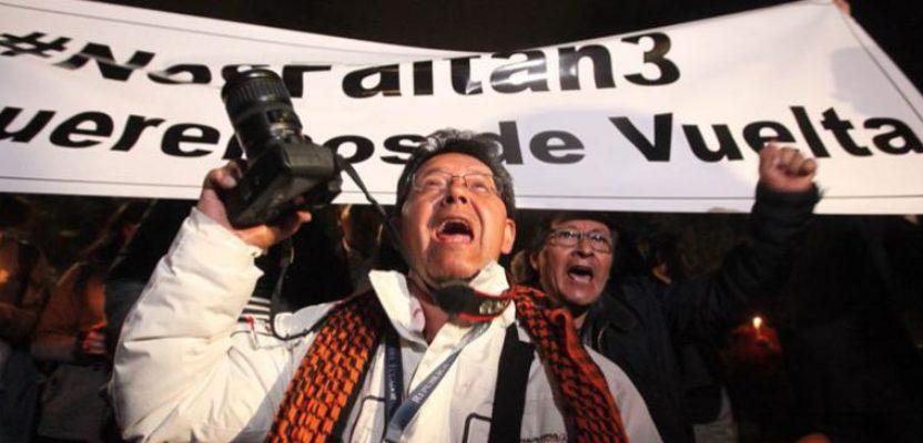 Exigimos: seguridad para el periodismo