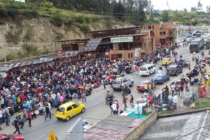 Éxodo venezolano: drama ecuatoriano