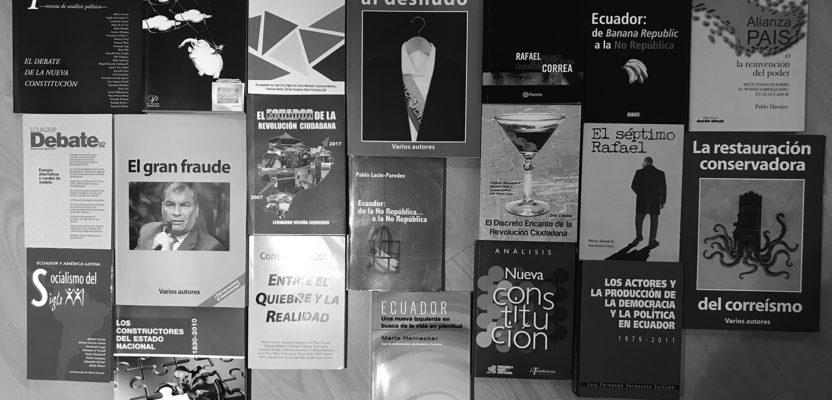 Ecuador: una década entre libros, pasiones y opiniones