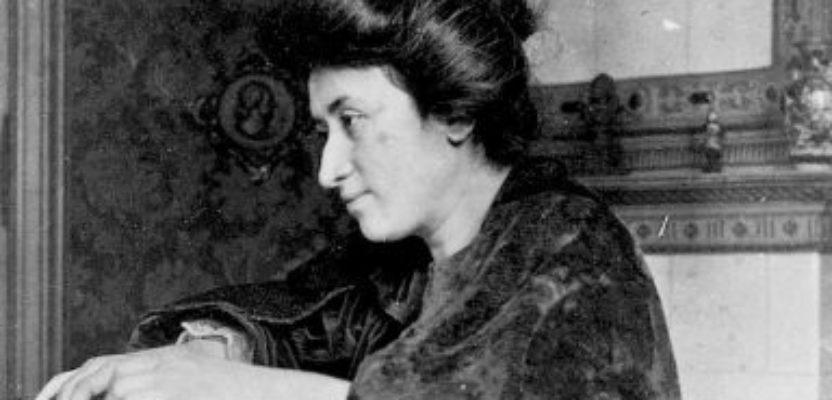 Rosa de Luxemburgo: A cien años del asesinato de la revolucionaria, marxista y feminista alemana.