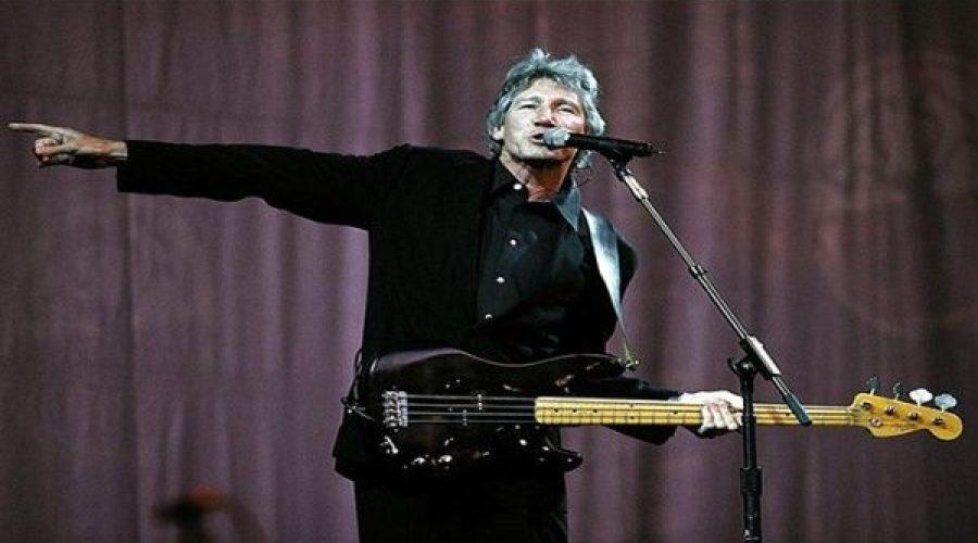 Roger Waters protesta por injerencia norteamericana en Venezuela