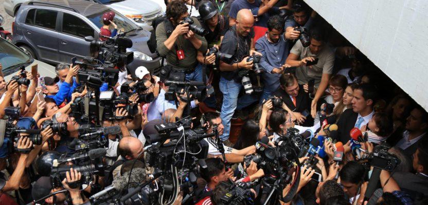Sobrevivencia de la prensa en Venezuela