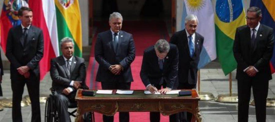 Sudamérica sepulta a UNASUR