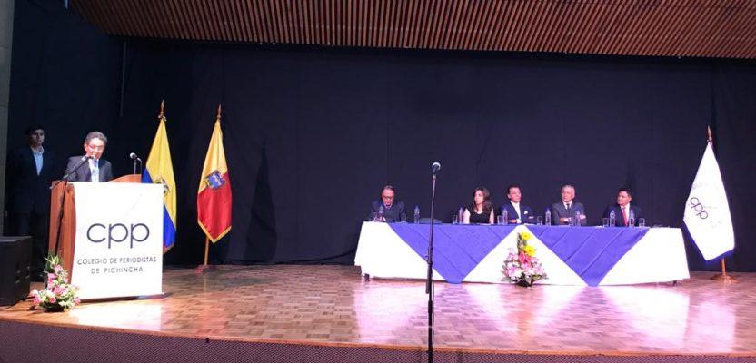 Colegio de Periodistas renueva directiva y rinde homenaje a periodistas asesinados.
