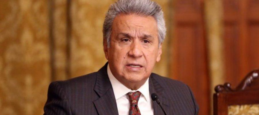 Fiscalía investiga a Lenin Moreno por cuentas en paraísos fiscales.