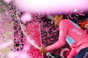 Ecuatoriano Richard Carapaz, líder del Giro de Italia