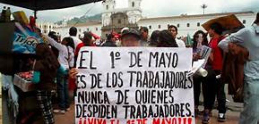 Ecos del 1 de Mayo en Quito
