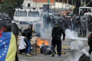 El fallido «golpe» en Venezuela