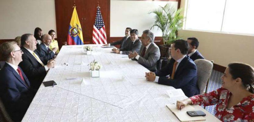 Las nuevas relaciones de Ecuador con EEUU