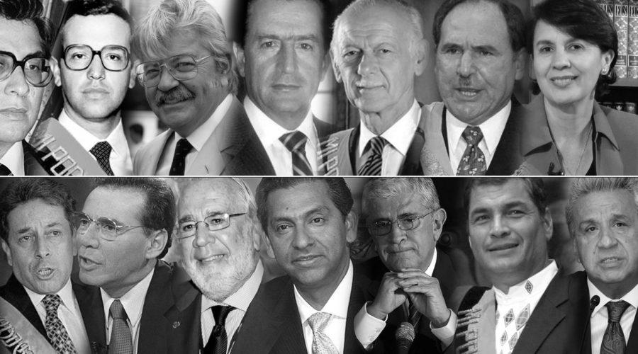 Ecuador: 40 años entre democracia y desengaños