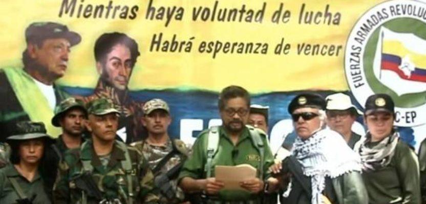 Guerrilla colombiana retoma las armas