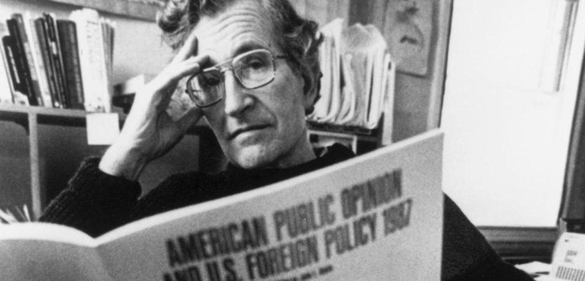 Chomsky, filósofo de la posmodernidad