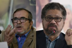 División en sectores guerrilleros colombianos
