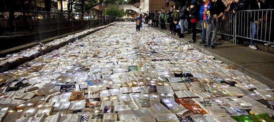 En la vía de los libros