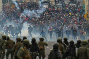 Ocho días de protesta y brutal represión