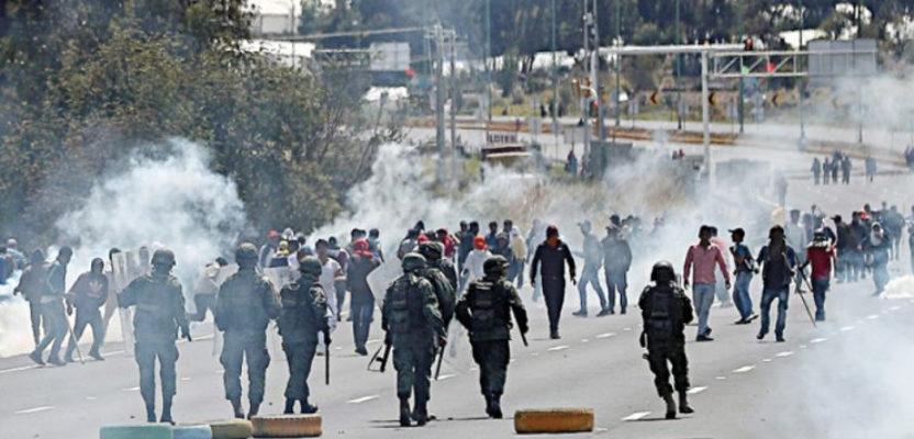 Ecuador militarizado