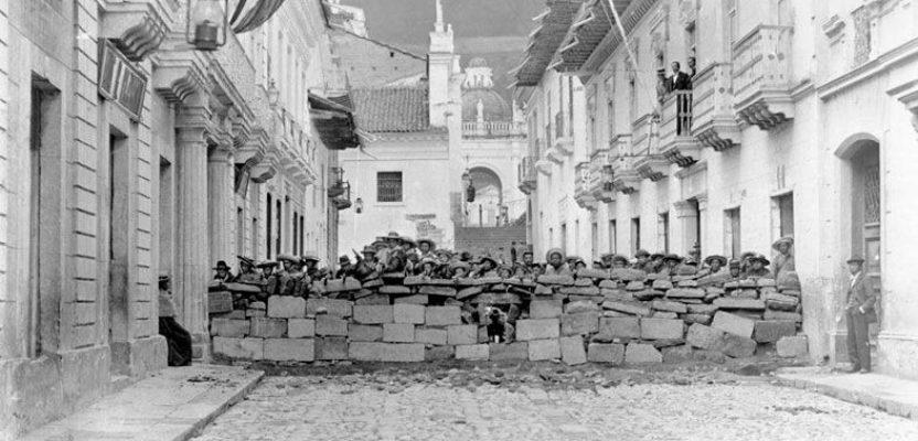 El Centro Histórico de Quito y las luchas y protestas populares