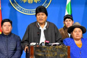 Renuncia presidente Evo Morales