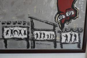 Rosy Revelo, una pintura sensorial y humanista