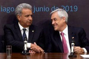 Chile y Ecuador: incomunicación gubernamental