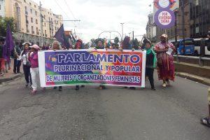 Marcha feminista: No estamos solas