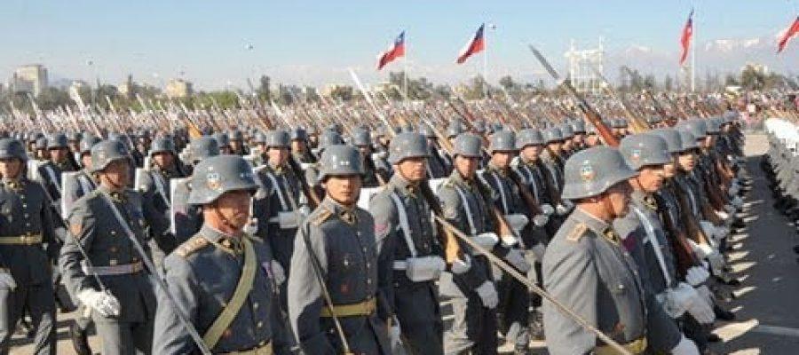 Las glorias de las FFAA chilenas