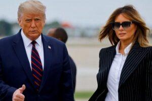 Trump y esposa dan positivo de Covid 19