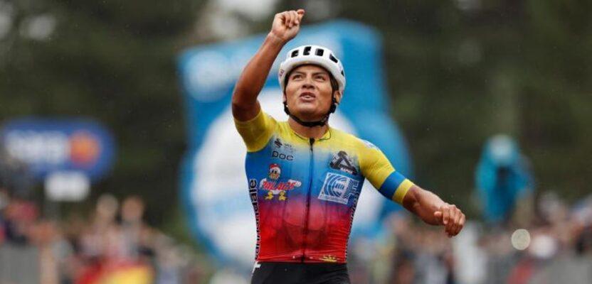 Jonathan Caicedo se toma el Giro de Italia