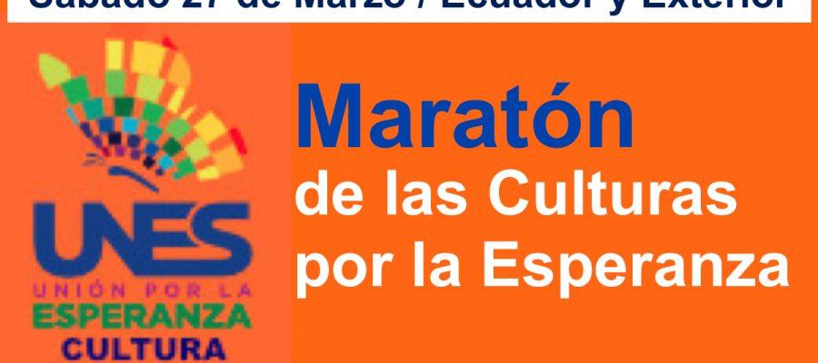 Maratón cultural por la esperanza