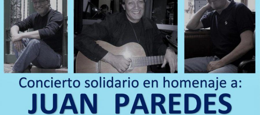 Concierto solidario con Juan Paredes